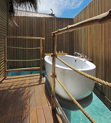Constance Hôtel Moofushi Resort 5 étoiles chambres